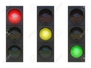 piros - sárga - zöld